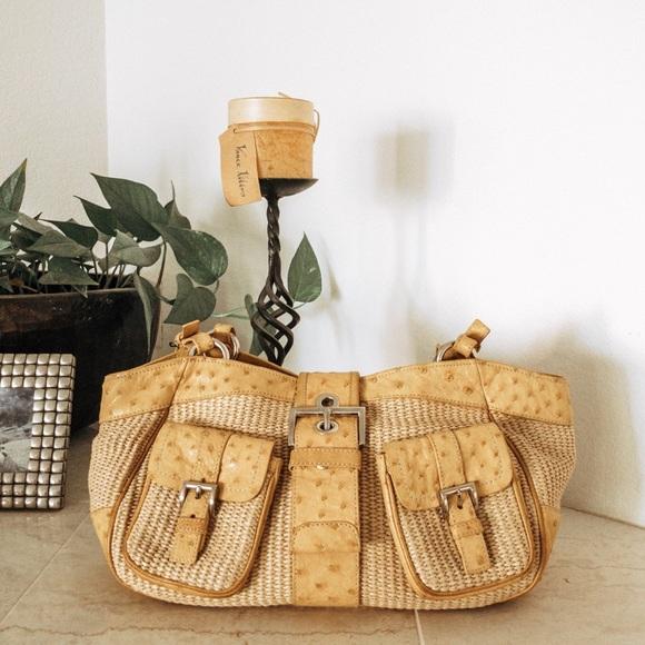 528602030067f8 Prada Bags | Rare Paglia Struzzo Ostrich Raffia Bag | Poshmark